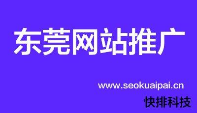 东莞网站推广